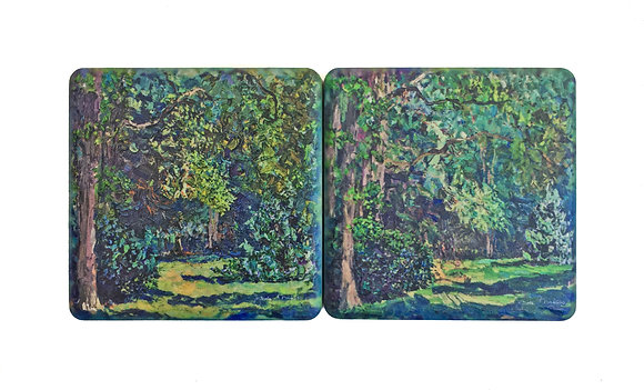 Trees Coaster Set
