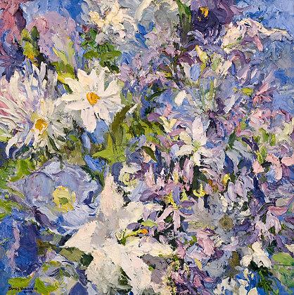 A Lavender Spring (2008) Hand-Deckled Card