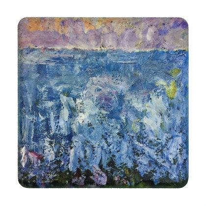 Coaster #1 - Lavender Sunset