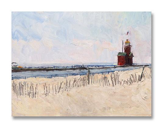 "Big Red, 2020 (2020) Giclée on Canvas - 36"" x 48"""