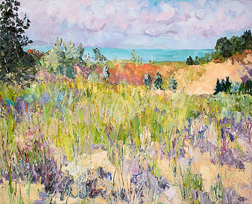 Early Autumn Dunes, Saugatuck