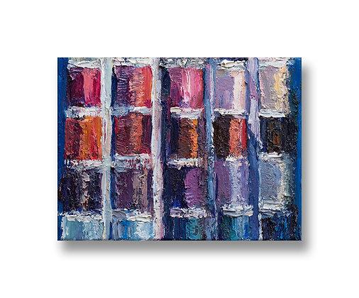 """Thread (2020) Giclée on Canvas - 12.75"""" x 17"""""""