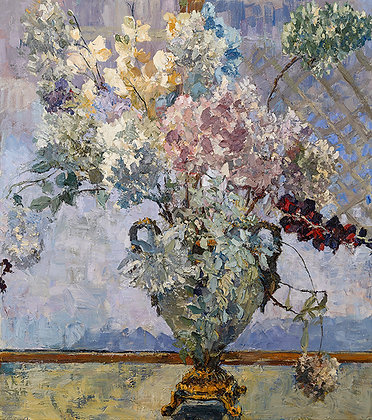 Winter Bouquet (2019) Hand-Deckled Card