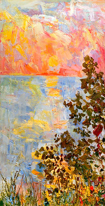 Oval Beach Sunset, Saugatuck (2002)