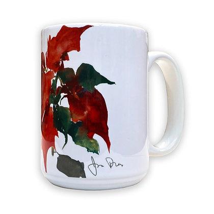 Poinsettia II (2002) Mug