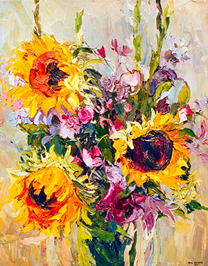 Sunflower Bouquet (2001)
