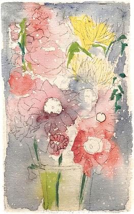 Christmas Bouquet (A2 Notecard)