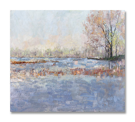 "Spring on the Bayou (2020) Giclée on Canvas - 40"" x 45"""