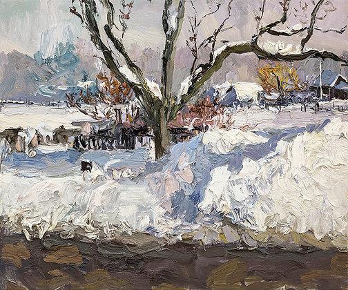 Winter Along Park Street (2018)