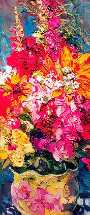 Summer Bouquet (2009) Hand-Deckled Card