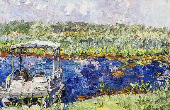 Floating Studio on the Bayou