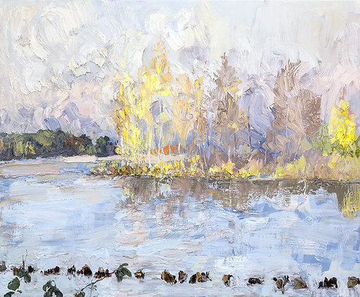 Autumn Light on the Old Channel (2016)