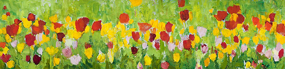 Tulips (2014) Hand-Deckled Card