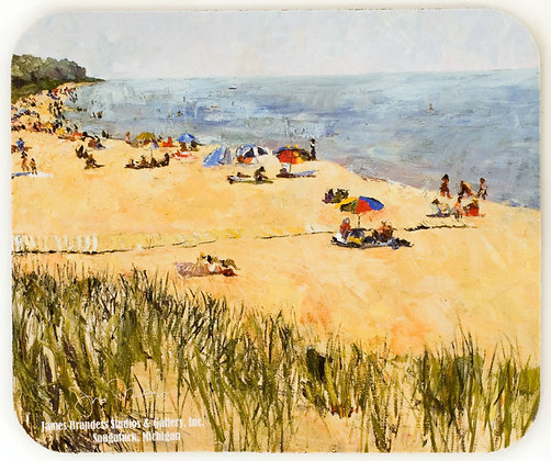 Oval Beach (2007) Mouse Pad