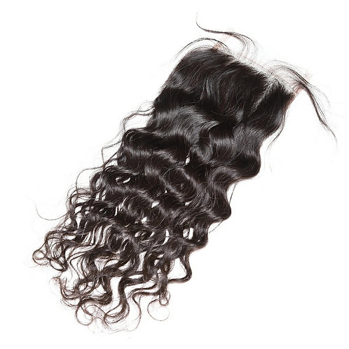 Water Wave Curl  Closure