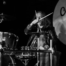 The Artist One Drummer Live photo by Denise Hathaway