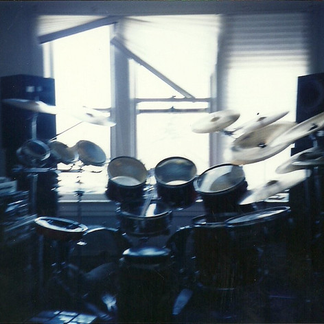 The artist ONE, early years, Drums