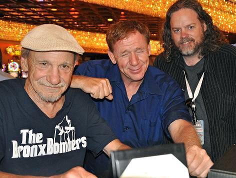 The artist ONE, Henry Hill, Mickey Silver, Vegas film Fest