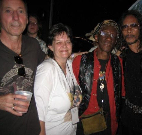 The Artist ONE, Leon Hendrix, Buddy Miles, Austin TX