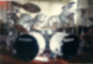 the Artist ONE, Ludwig Drums, Custom, White, 12 peice kit