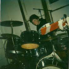 Malachi, the Artist ONE, Drums early years, High St, 1980's, practise pads