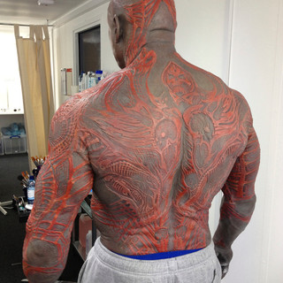 Drax stunt double