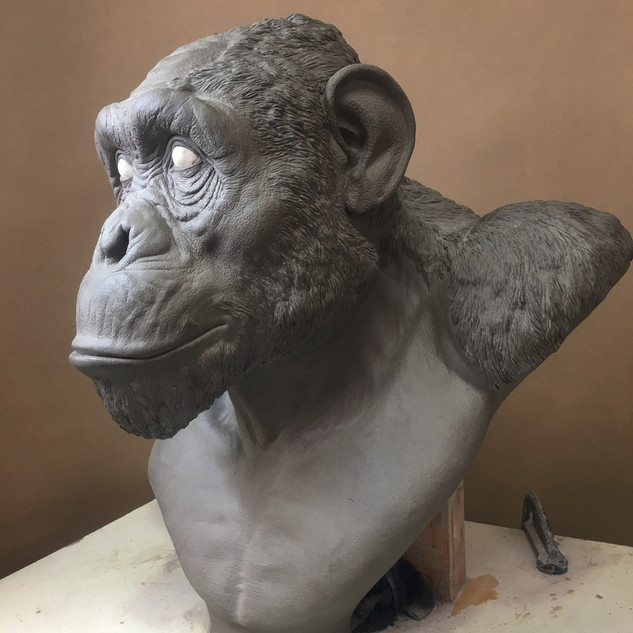 Chimpanzee Sculpture