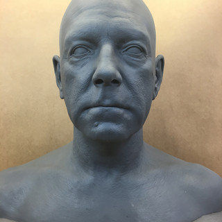 Kenneth Branagh sculpt