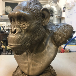 Resin Cast of Bust