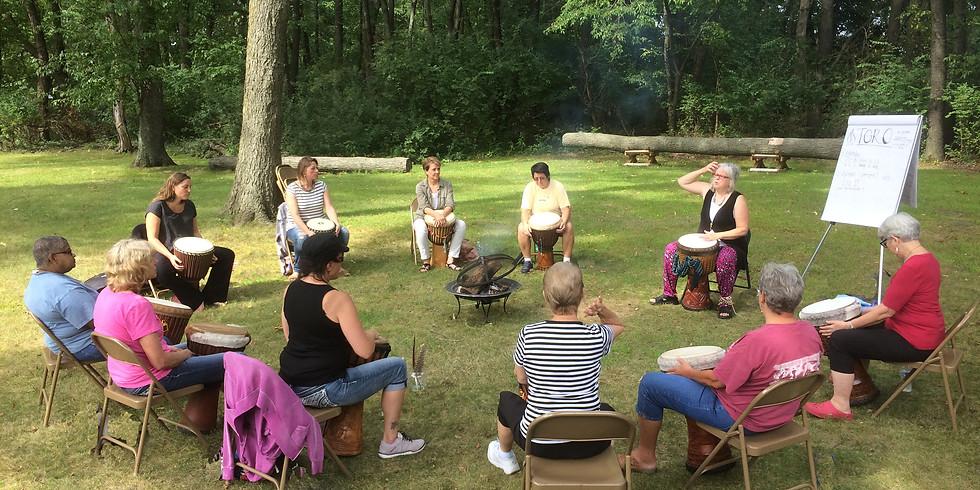 """Wontanara: Another Spiritual Journey Through Ensemble African Rhythms"""