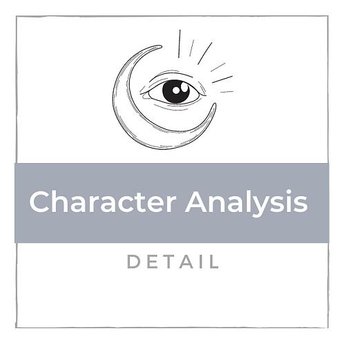 Charakter Analyse - Detalliert