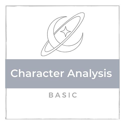 Charakter Analyse - Basic