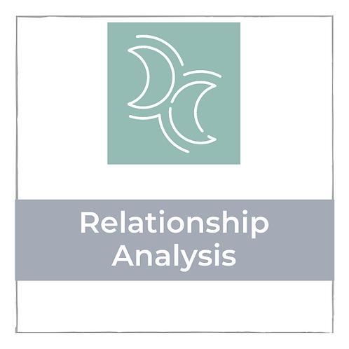 Relationship Analyse - 60 min.