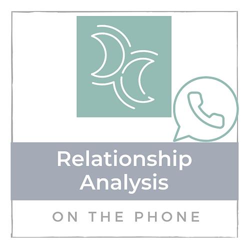 Relationship Analyse - am Telefon - 45 min.