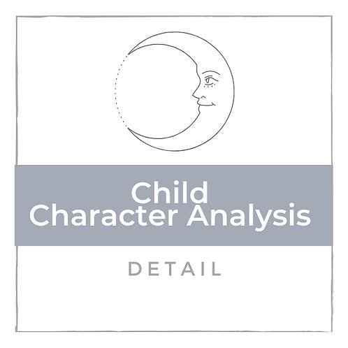 Kinder Charakter Analyse - Detalliert