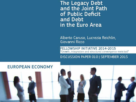 A. Caruso, L. Reichlin, G. Ricco - The Legacy Debt and the Joint Path of Public Deficit and Debt in