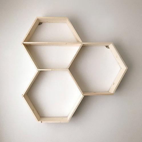 Honeycomb Shelves- Unit of 3