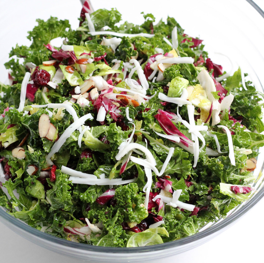 Paleo-Super-Green-Salad-with-cranberries