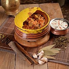 حيدرابادي برياني لحم Mutton Hydrabadi Biryani