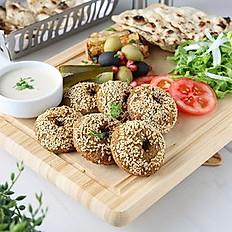 طبق فلافل Falafel Platter