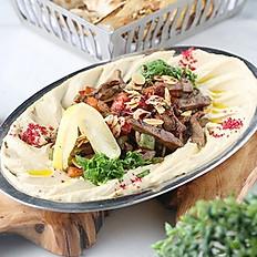 حمص كبدة Hummus kebdah