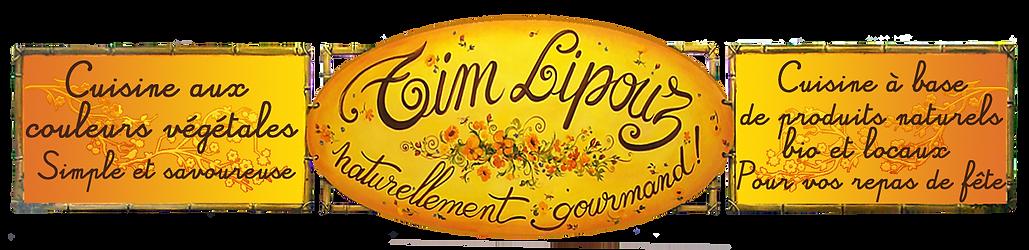 Tim Lipouz lannion cuisinier traiteur végétarien
