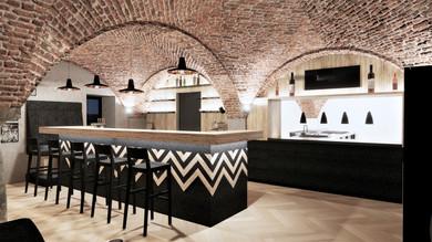Bar Restaurant Entwurf
