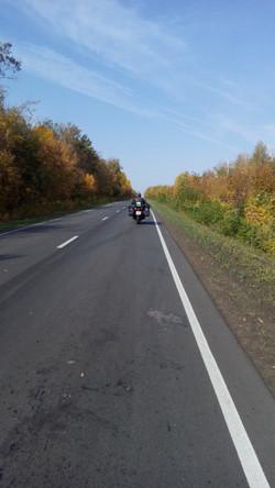 Осенняя дорога домой.