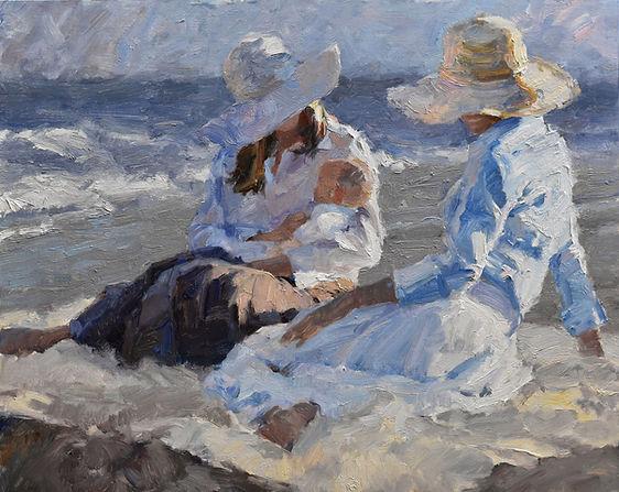 Beach Blanket  24x30 $4800 sold.jpg