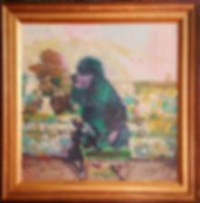 poodle+on+velvet+stool+in+frame.jpg