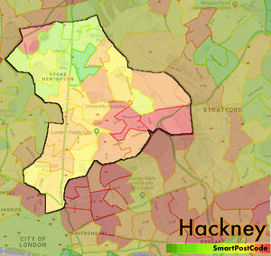 London Dangerous Areas Map.Neighbourhood Income And Safety Score Map Greater London