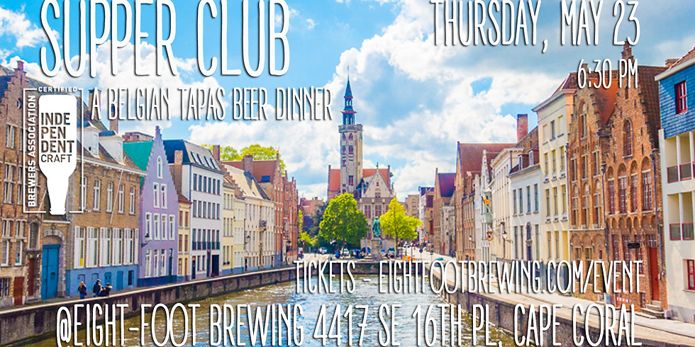 Belgian Tapas Beer Dinner