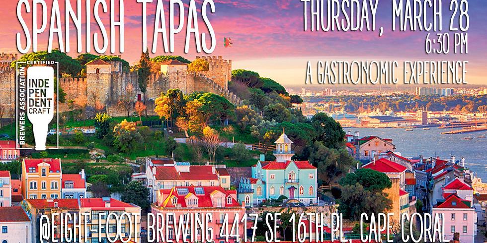 Spanish Tapas Beer Dinner