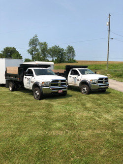 Dump trucks for all our needs